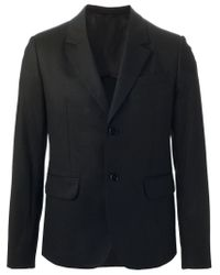 Carven - Black Classic Blazer for Men - Lyst