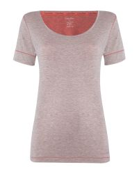 Calvin Klein | Pink Short Sleeved Pj Top | Lyst