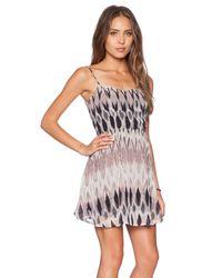 Capulet Pink Scoop Back Dress