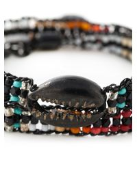 Gas Bijoux | Multicolor Beaded Multi-strap Bracelet | Lyst