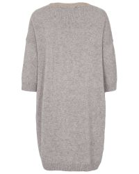 French Connection Natural Ruby Knits Jumper Dress