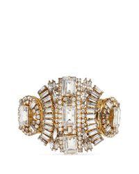 Erickson Beamon | Metallic 'temptress' Crystal Bracelet | Lyst