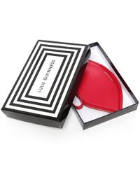 Lulu Guinness - Red Lips Coin Purse - Lyst