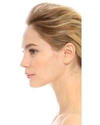 Gorjana Metallic Lonny Ear Climber & Stud Earrings - Gold/clear