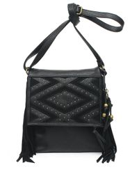 Jessica Simpson | Black Romy Faux Leather Crossbody Bag | Lyst