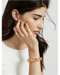 BaubleBar - Metallic Tied Up Bracelet - Lyst