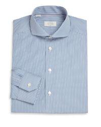 Eton of Sweden - Blue Striped Dress Shirt for Men - Lyst
