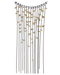 Sia Taylor Metallic Oxidised Silver Chain Necklace