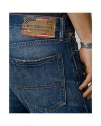Denim & Supply Ralph Lauren | Blue Slim Fit Tuscan Tapered Jeans for Men | Lyst