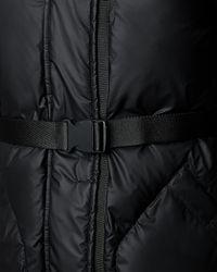 HUNTER | Black Women's Original Rubber-touch Down Jacket | Lyst