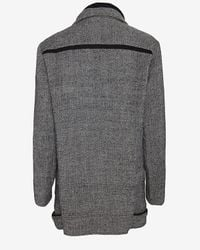 IRO - Gray Bailey Oversized Collar Wool Coat: Grey - Lyst