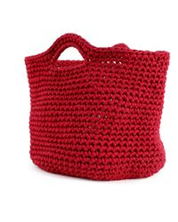 Wool And The Gang | Red Brady Basket | Lyst