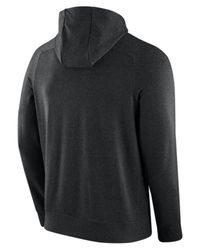 Nike | Black Cotton Tracksuit With Logo Detail for Men | Lyst