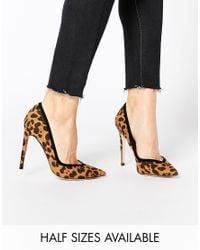 ASOS | Black Pixie Pointed High Heels | Lyst