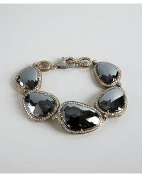 Amrapali - Metallic Black Spinel and Diamond Bracelet - Lyst