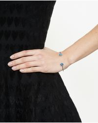 Kimberly Mcdonald | Blue Bolder Opal And Diamond Wire Bangle | Lyst