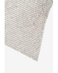 Nasty Gal   Metallic Geneva Chain Handkerchief Necklace   Lyst