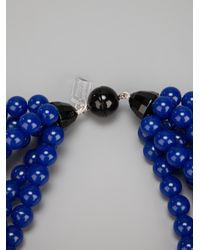 Antonella Filippini - Blue Beaded Necklace - Lyst