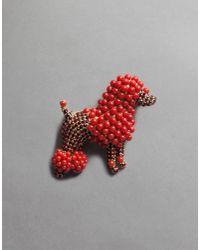 Dolce & Gabbana | Pink Poodle Brooch | Lyst