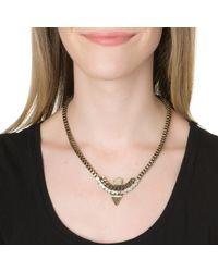 Lionette | Metallic Tribeca Necklace | Lyst