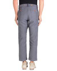 Visvim - Gray Casual Trouser for Men - Lyst