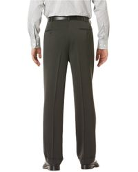 Perry Ellis   Gray Classic Fit Micro Melange Pleated Pants for Men   Lyst