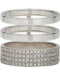 Repossi | Metallic Women's Berbere Module Cage Ring | Lyst