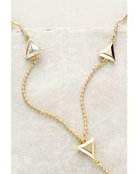 Sarah Magid | Metallic Flight Formation Lariat Necklace | Lyst