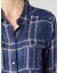 PAIGE - Blue Mya Shirt - Lyst