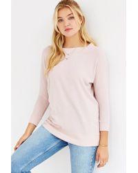 Kimchi Blue Pink Elle Cozy Tunic Top