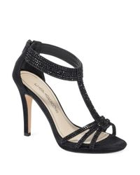 Caparros | Black Maddy Rhinestone Heels | Lyst