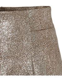 H&M Metallic Skirt