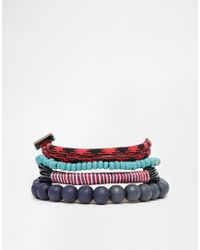 Icon Brand | Blue Blackmail Climbing Rope Bracelet Pack for Men | Lyst