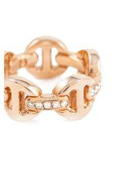 Hoorsenbuhs Pink 'tri-link' Ring