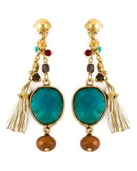 Gas Bijoux | Blue 'serti Pondichery' Earrings | Lyst