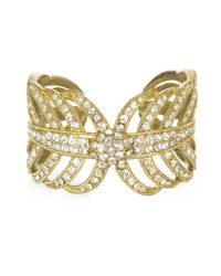 Lulu Frost | Metallic Gold Drift Cuff | Lyst