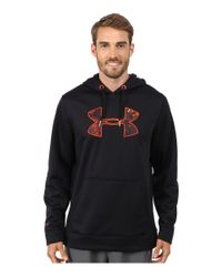 Under Armour | Black Ua Rival Hoodie for Men | Lyst