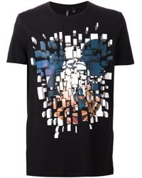 Neil Barrett | Black Mickey Mouse Print T-Shirt for Men | Lyst
