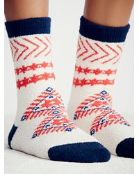 Free People | Natural Raffel Ii So Soft Boot Sock | Lyst