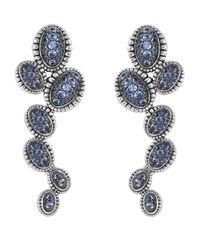 Lagos | Blue Sapphire Large Drop Earrings | Lyst
