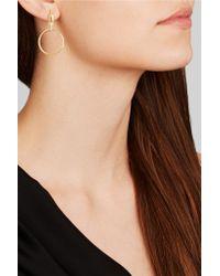 Maria Black - Metallic Auro Gold-plated Earrings - Lyst