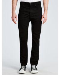 Levi's Black 510 Skinny Fit Jeans for men