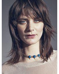 Jenny Bird - Blue Aurora Choker - Lyst