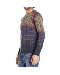 Just Cavalli | Multicolor Sweater for Men | Lyst