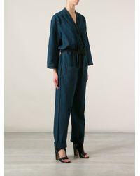 Étoile Isabel Marant | Blue Tadia Jumpsuit | Lyst