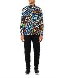 Moschino - Black Shirt for Men - Lyst