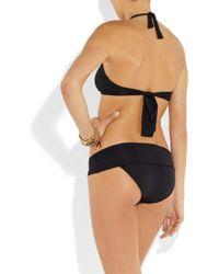 Melissa Odabash Black Brussels Halterneck Bikini Top