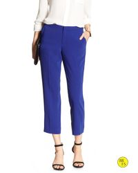 Banana Republic | Blue Factory Slim-fit Crop | Lyst