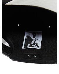 DRKSHDW by Rick Owens Black Snapback Hat for men
