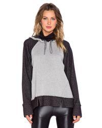 Koral Activewear - Black Tomoe Cast Split Hoodie - Lyst